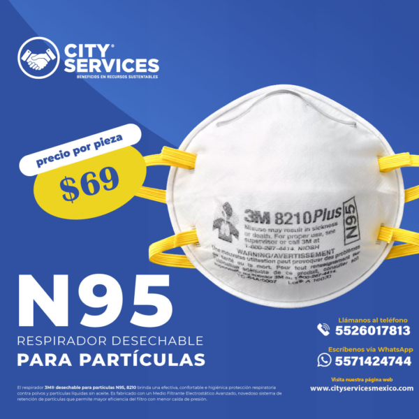 City Services Mexico N95 3M